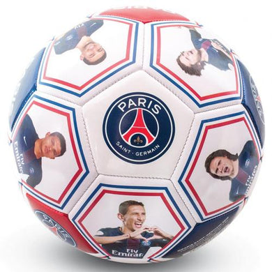 Paris Saint Germain F.C. Photo Signature Football