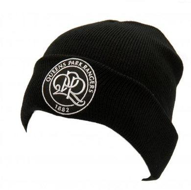 Queens Park Rangers F.C. Knitted Hat TU BLK