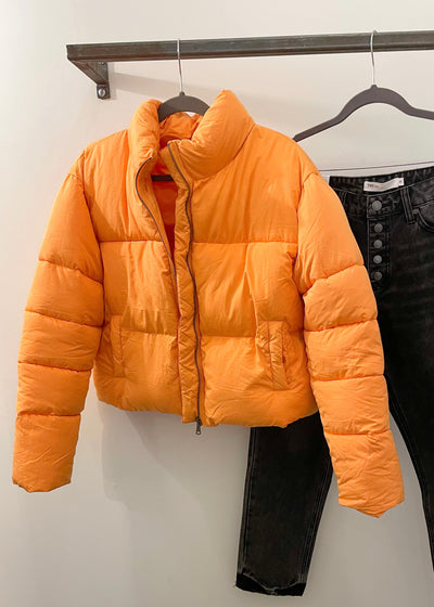 Orange Crush Puffer