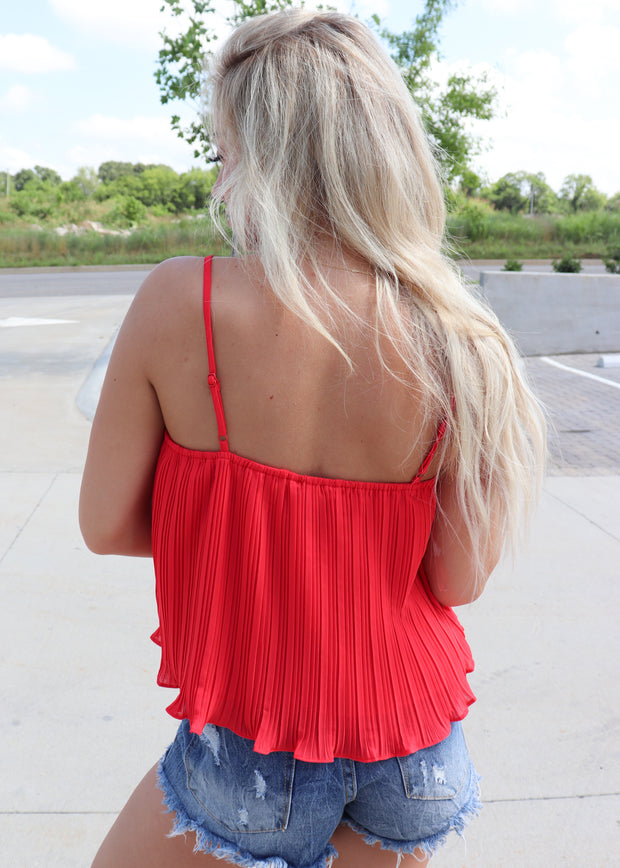 Pleat Of The Moment Tank