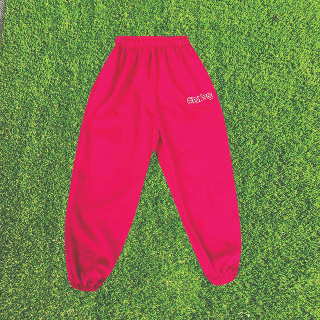 #BAP$ Sweatpants - Red