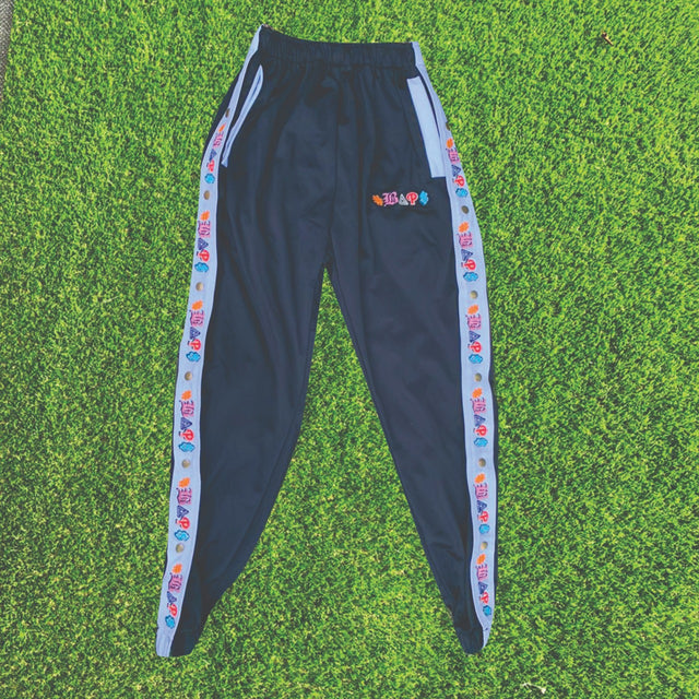 #BAP$ Sweatpants - Black Multi Logo