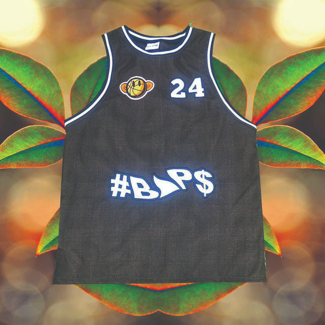 #BAP$ Basket Ball Vest- Checked Brown