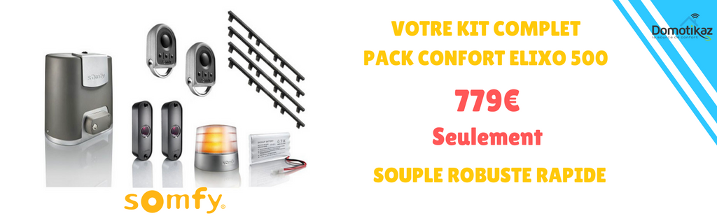 Kit complet elixo 500 pack confort