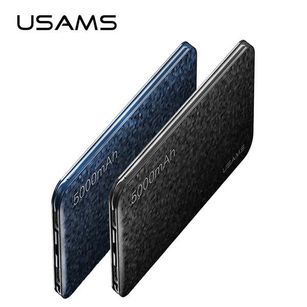 Powerbank pour téléphone mobile iPhone USAMS Mosaic Ultra Slim 5000mAh