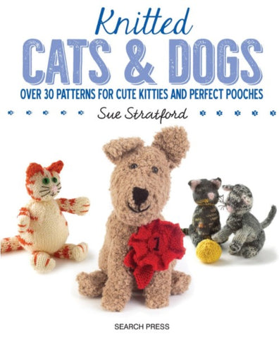 knitted cats and dogs book