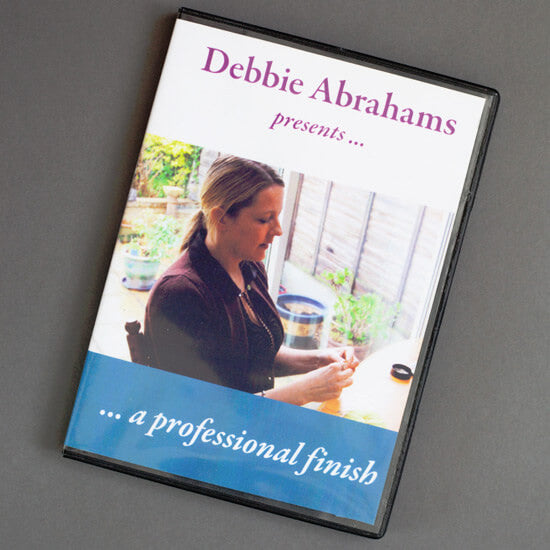 A Professional Finish DVD by Debbie Abrahams