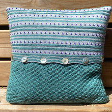 Hyacinth Cushion Cover Knitting Kit
