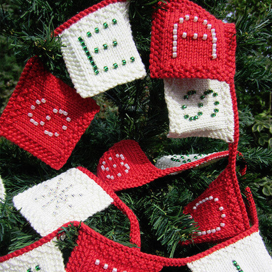 Festive Bunting Knitting Kit V2