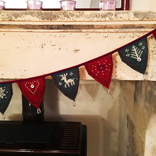 Ultimate Festive Bunting Knitting Kit