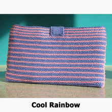 Rainbow Purse Knitting Kit