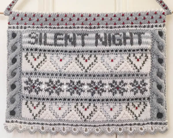 Silent Night Wall-Hanging