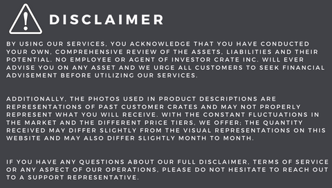 Disclaimer Infographic
