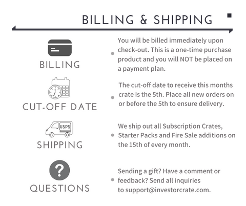 Billing and Shipping Infographics