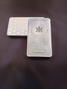 10 oz Silver Royal Canadian Mint Bar (RCM)