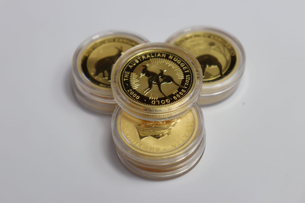 1/2 oz Gold Coin (Mostly Maples)
