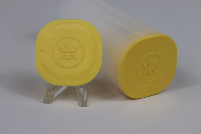 Tube - Canadian Royal Mint (Yellow Cap)