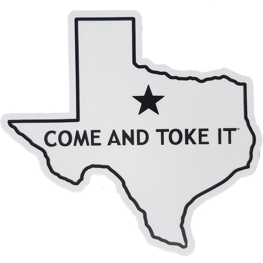 The Lonestar Sticker