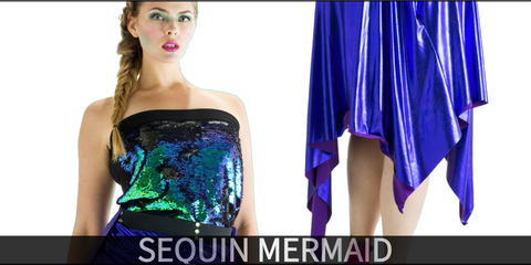 Sequin Mermaid Costume Collection