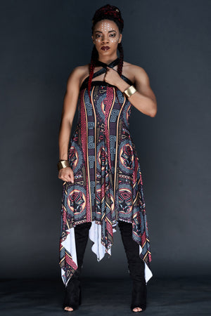 Nairobi Convertible Snap Dress