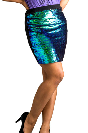 Flip Sequin Mermaid Convertible Bandeau Skirt/Top