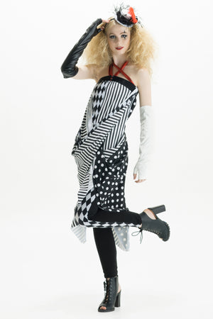 Dark Circus Convertible Snap Dress
