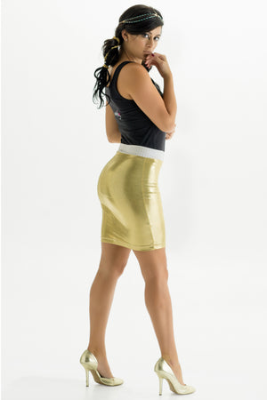 Golden Goddess Convertible Bandeau Skirt/Top