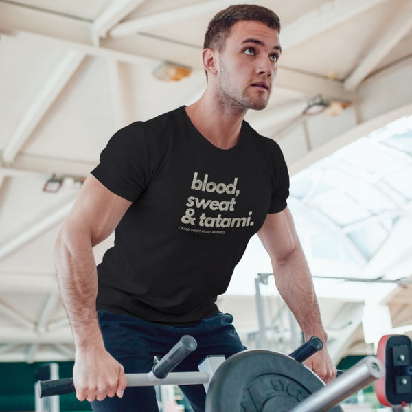 Men's Blood, Sweat & Tatami T-shirt