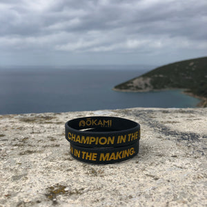 Champion In The Making wristband (included in this 4 pack)