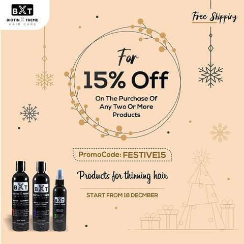 Holiday Sale for Fine and Thinning Hair