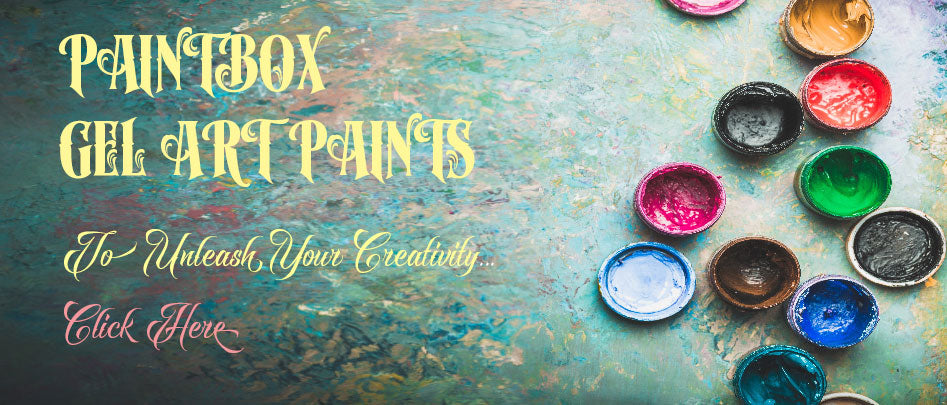 Aces & Dolls - Paint Box - Gel Art Paints