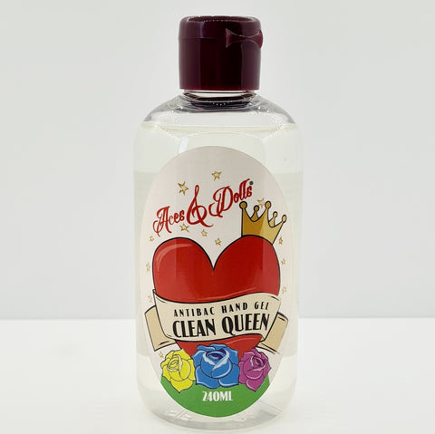 Clean Queen 70% Sanitising Hand Gel