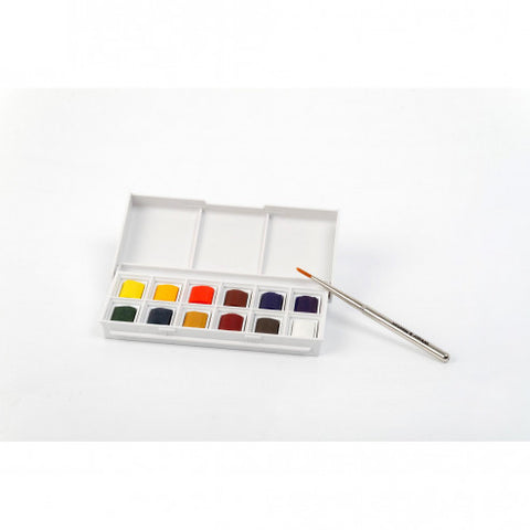 Aquarelle Paints - Winsor & Newton Cotman Watercolour Sketchers Pocket Box