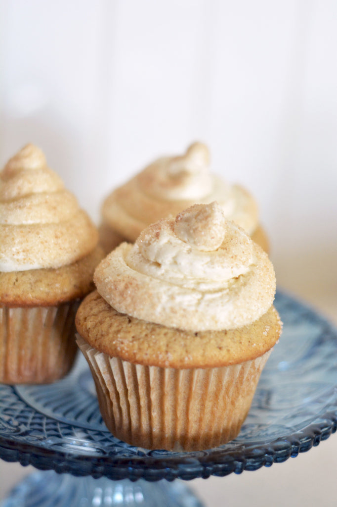 MapleMade - French Toast Cupcakes with Maple Frosting