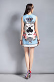 A-line Queen of Clubs Dress