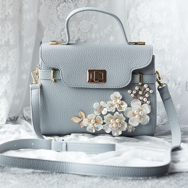 Flowers and Pearls Pastel Handbag · Flowers and Pearls Pastel Handbag ... 5134915e46d67