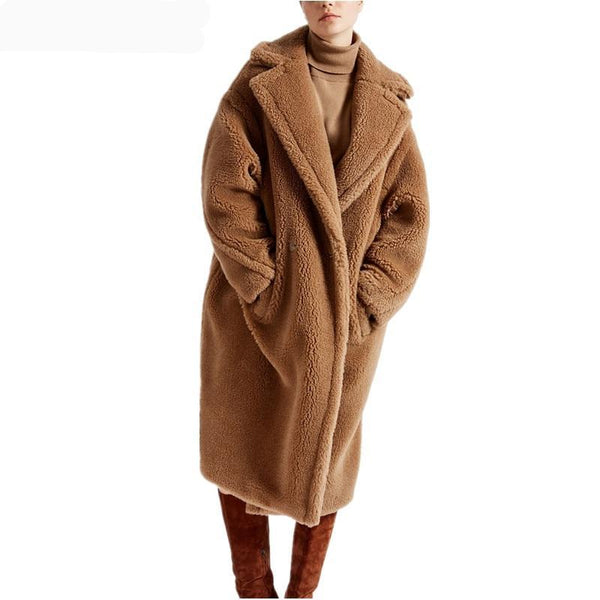 Teddy Bear Shearling Coat