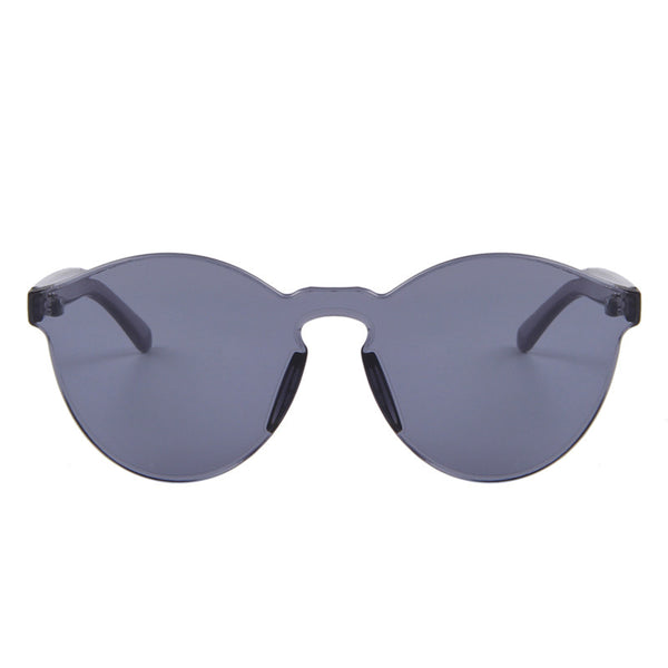 Integrated Cat Eye Sunglasses