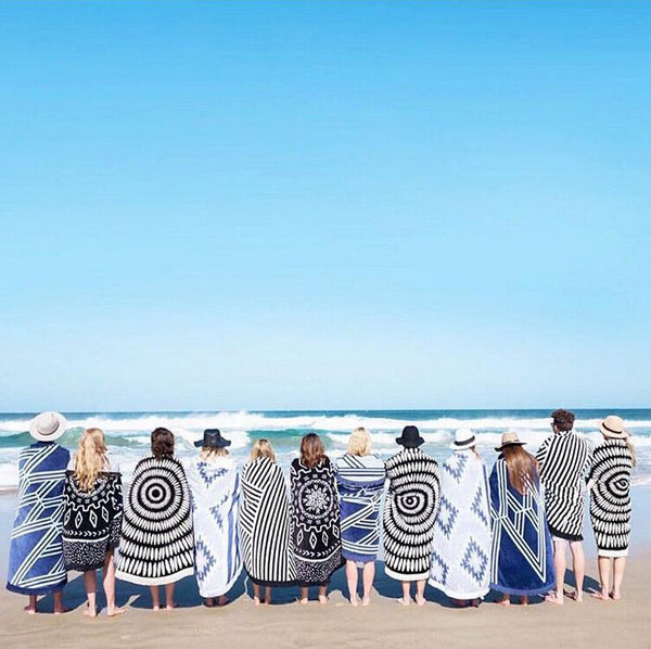 Beach Towel Round 100% Cotton