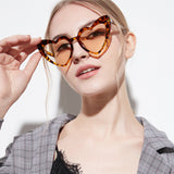 Heart Shaped Cat Eye Sunglasses
