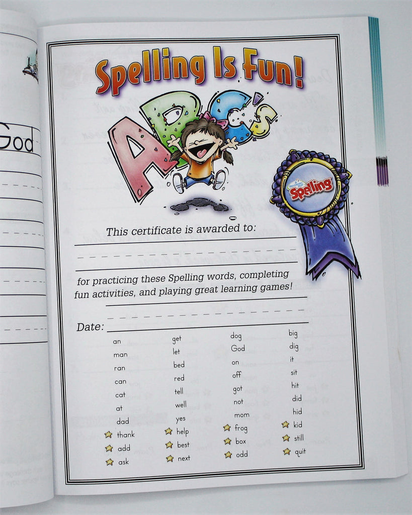 Spelling Level A Student Worktext