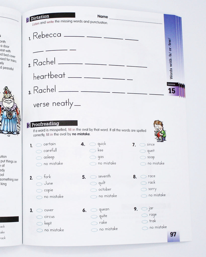 Spelling Level C Set (Limited Stock)