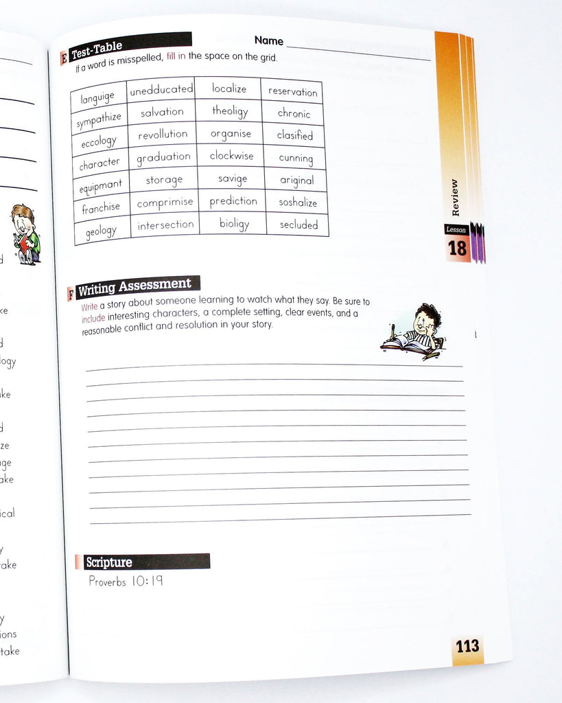 Spelling Level F Student Worktext (Limited Stock)