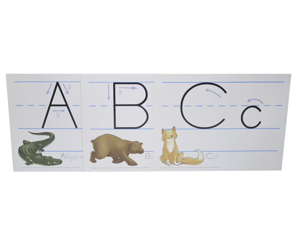 Alphabet Wall Sheets