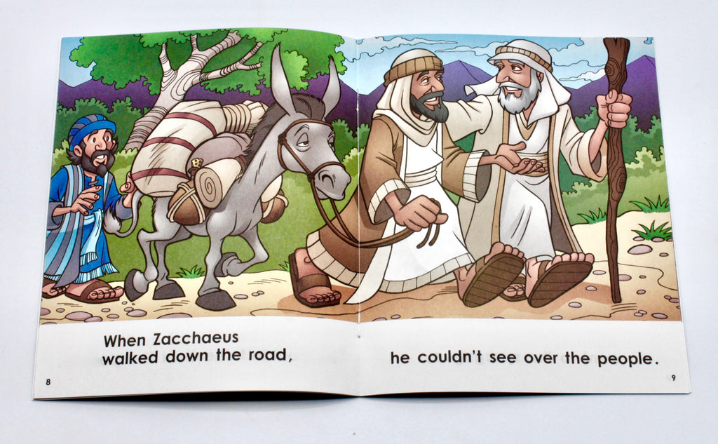 Guided Reading Early Readers Set - New Testament Stories (10 Books)