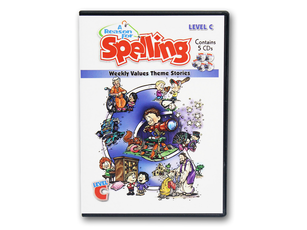 Spelling Level C Theme Story CDs (Limited Stock)