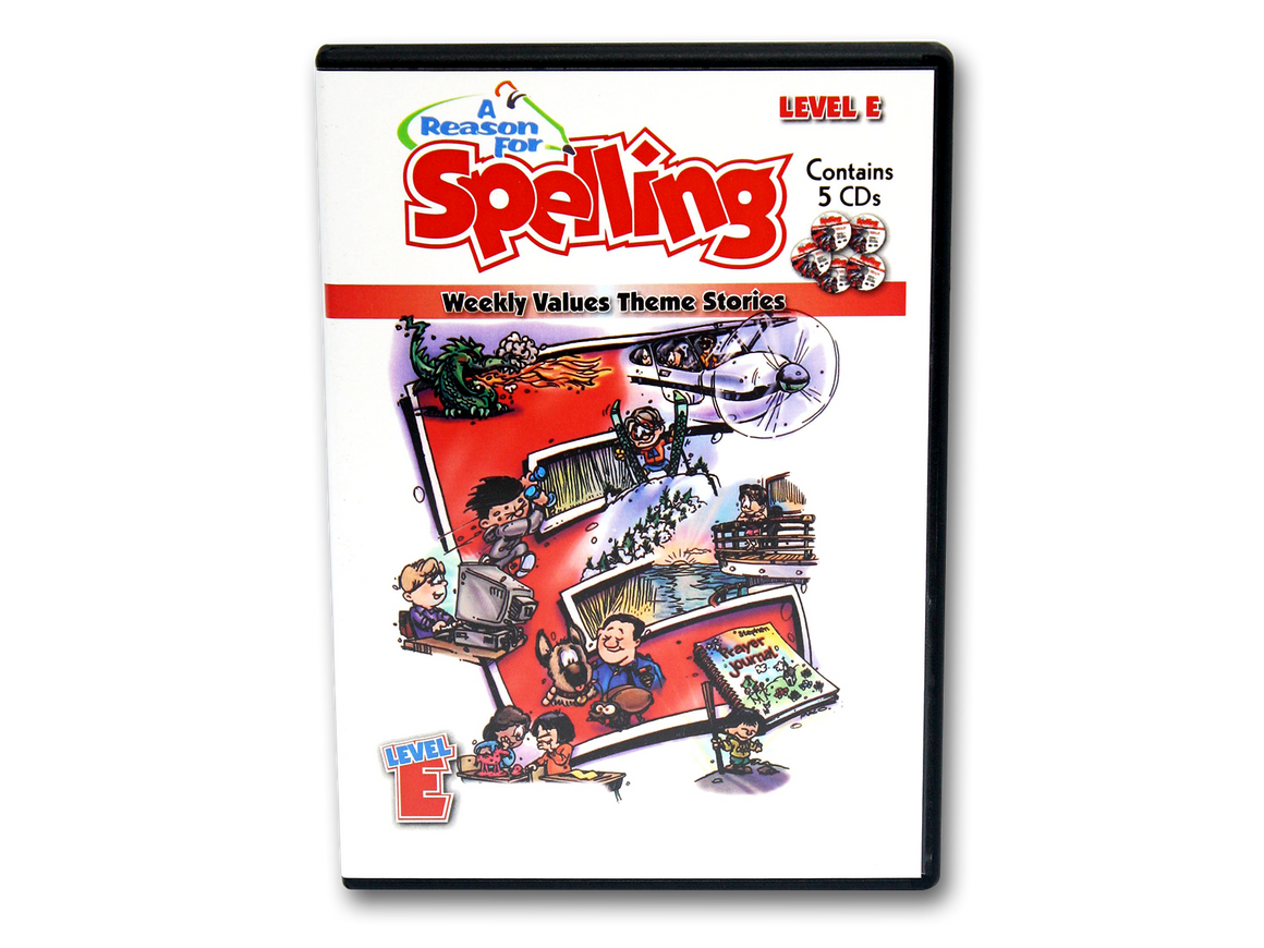 Spelling Level E Theme Story CDs (Limited Stock)