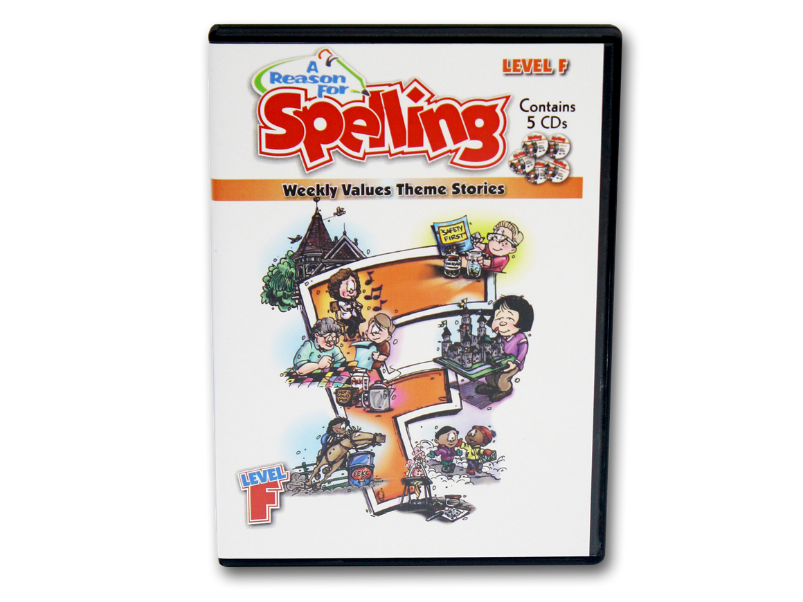 Spelling Level F Theme Story CDs (Limited Stock)