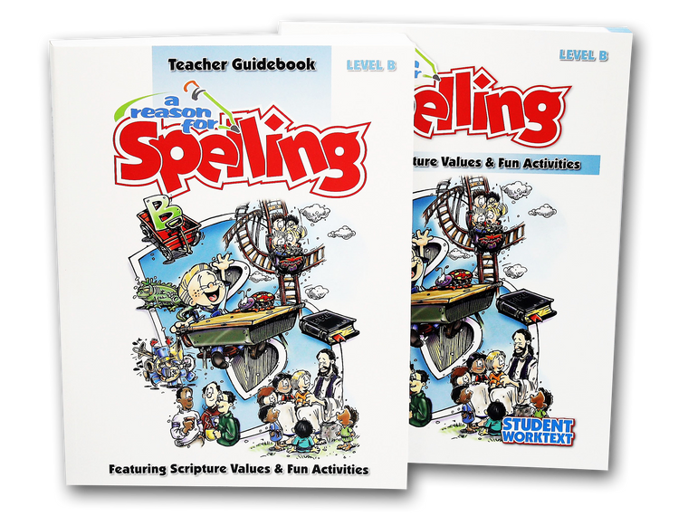 Spelling Level B Set (Limited Stock)
