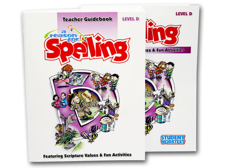 Spelling Level D Set (Limited Stock)